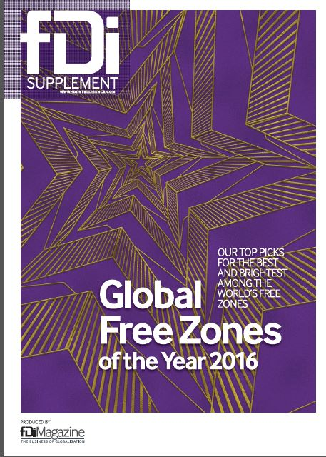 """Zona Franca Santander is """"The Best Free Zone of Latin America and Caribbean 2016"""": fDi Magazine- Financial Times."""